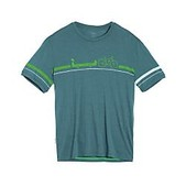 Icebreaker Mens Tech Lite Short Sleeve Crewe Road to River - New