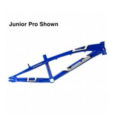 Intense Podium Pro XL BMX Bike Frame Blue 20""