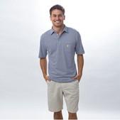 Johnnie-O Striped 4-Button Polo for Men