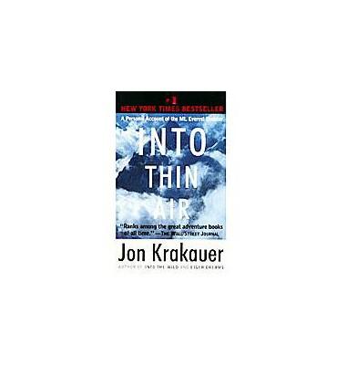 JON KRAKAUER Into Thin Air