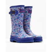 Joules Printed Rain Boot Wellies for Girls