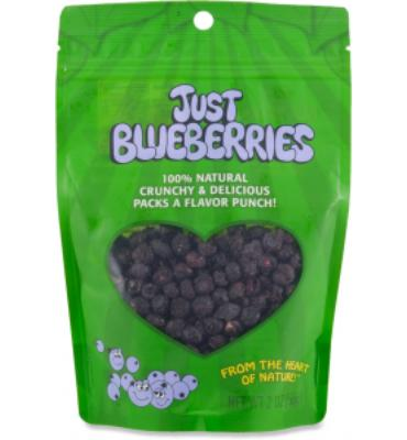 Just Tomatoes, Etc.! Just Blueberries Fruit Snack - 2 oz.