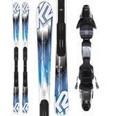 K2 Amp RX Skis w/ Marker Fastrack3 10 Bindings