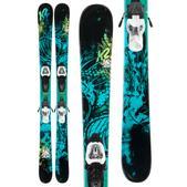 K2 Bad Seed Skis w/ Marker Fastrak2 7 Bindings
