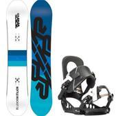 K2 Bottle Rocket Snowboard w/ K2 Lien FS Bindings