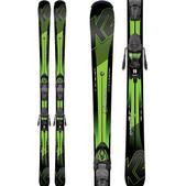 K2 Charger Jr. Skis w/ Marker Fastrak2 7 Bindings