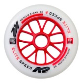K2 Elite 120mm 85A Inline Skate Wheels 2017