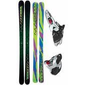 K2 Extreme Skis w/ Marker Griffon Bindings White/Black