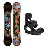 K2 Fastplant Mission Snowboard and Binding Package