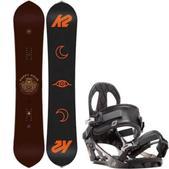 K2 Happy Hour Snowboard w/ K2 Sonic Bindings