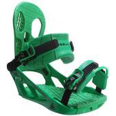 K2 Indy Snowboard Bindings Green