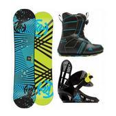 K2 Mini Turbo Snowboard 100 w/ Mini Turbo Boot/Binding