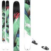 K2 Remedy 102 Skis w/ Tyrolia RX 12 Bindings