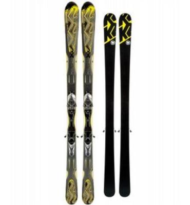 K2 Shockwave Skis w/ M2 11 TC Bindings