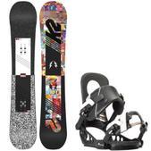 K2 Subculture Snowboard w/ K2 Lien FS Bindings