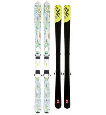 K2 Superific Skis w/ Er3 10.0 Bindings