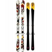 K2 T9 Burnin Luv Skis w/ Maker 11.0 TC ERS Bindings