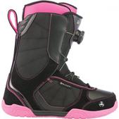 K2 Women`s Haven Snowboard Boots (Discontinued) (BLACK/PINK, 8.5)