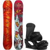 K2 WWW LTD Snowboard w/ Burton Custom Bindings