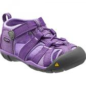 Keen Little Kid's Seacamp II CNX Sandal Purple Heart Bougainvillea 11