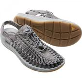 Keen Men's Uneek Round Cord LTD Sandal Gargoyle Neutral Gray 7