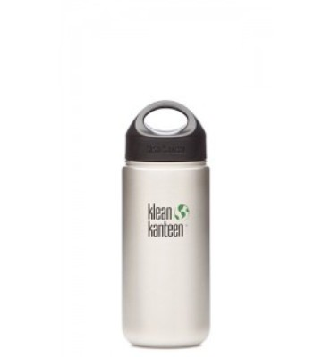 Klean Kanteen Wide Stainless Steel Water Bottle