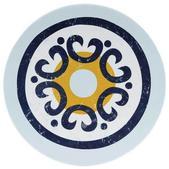 Knack3  Indigo Talavera Salad Plate