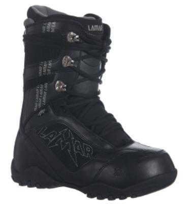 Lamar Justice Snowboard Boots Black