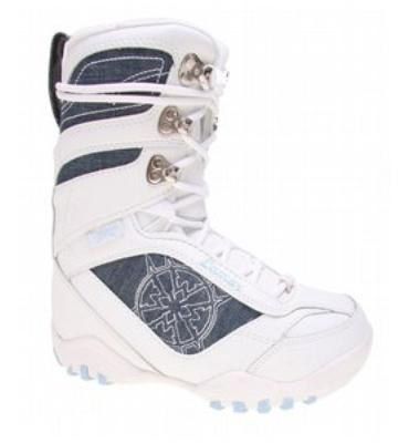 Lamar Justice Snowboard Boots White