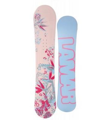 Lamar Merlot Snowboard 154