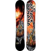 Lib Tech Attack Banana Wide Snowboard - Men's -Sale- 2014/2015