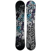 Lib Tech Banana Magic Horsepower BTX Wide Snowboard 2016