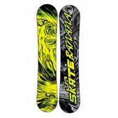 Lib Tech Skate Banana BTX Wide Snowboard Yellow/Green 153