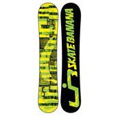 Lib Tech Skate Banana BTX Wide Snowboard Yellow/Green 159