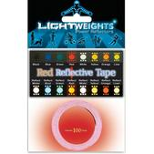 Lightweights Reflective Red Tape