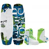 Liquid Force Harley Wakeboard with Harley Boots (2015)