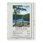 Long and Ell Ponds Trail Map - Rhode Island