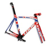 Look Cycle 695 Premium UK Flag Frameset - 2013