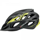 Louis Garneau Carve 2 MTB Helmet Size L Color MatteBlack/Yellow