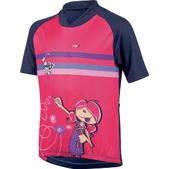 Louis Garneau Graphic Short Sleeve Cycling Jersey - Kid's Size 6 Color Artist