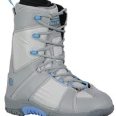 LTD Focus Snowboard Boots Grey/Sky - Women's