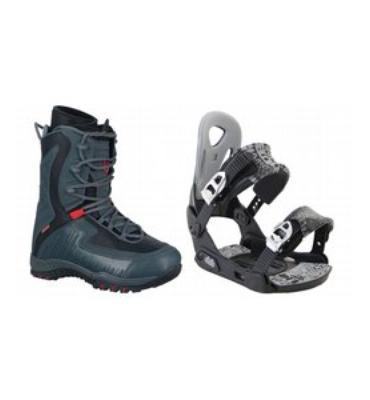 LTD Lyric Snowboard Boots & Dub Classic Bindings