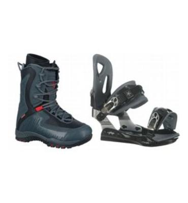 LTD Lyric Snowboard Boots & Lamar MX25 Bindings