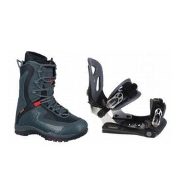 LTD Lyric Snowboard Boots & Lamar MX30 Bindings