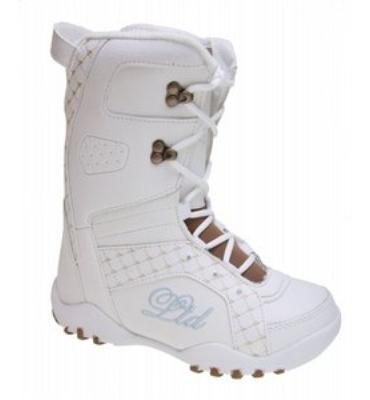 LTD Stratus Snowboard Boots White