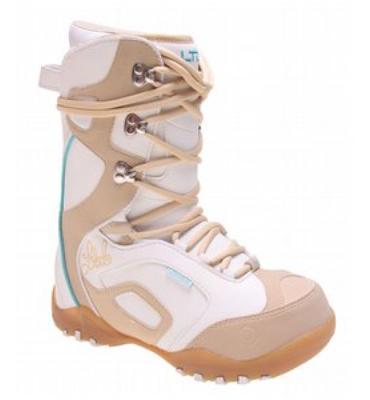 LTD Stratus Snowboard Boots White Mocha