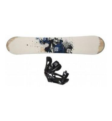 LTD Transition Snowboard & Binding Package