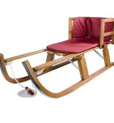 Lucky Bums Heirloom Collection Wooden Pull Sled