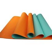 "Maji 2 Tone TPE Yoga Mat 24"" x 72"" x 4mm"