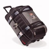 Marker 21 Inch Double Decker Wheeling Duffel (CHARCOAL / BLACK)